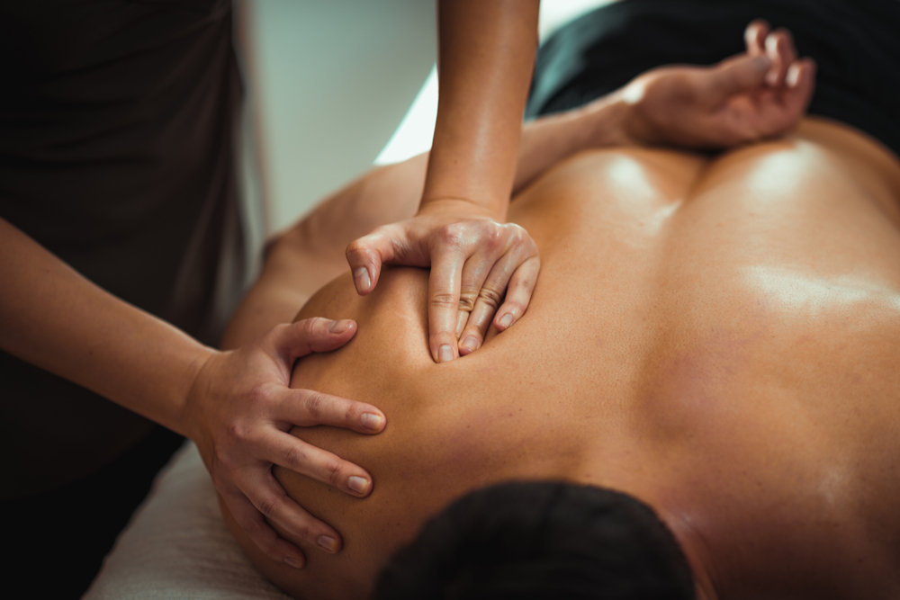 shutterstock 1190095987 1 showing the concept of Massage Therapy